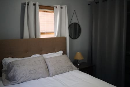 Private Bedroom / Livingroom suite with laundry - Hornell - Gästesuite