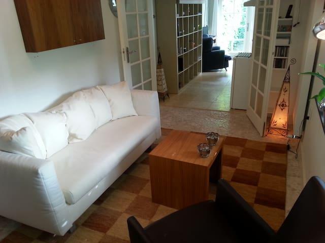 Prachtig luxe studio aan park in Haren - Haren - Huoneisto