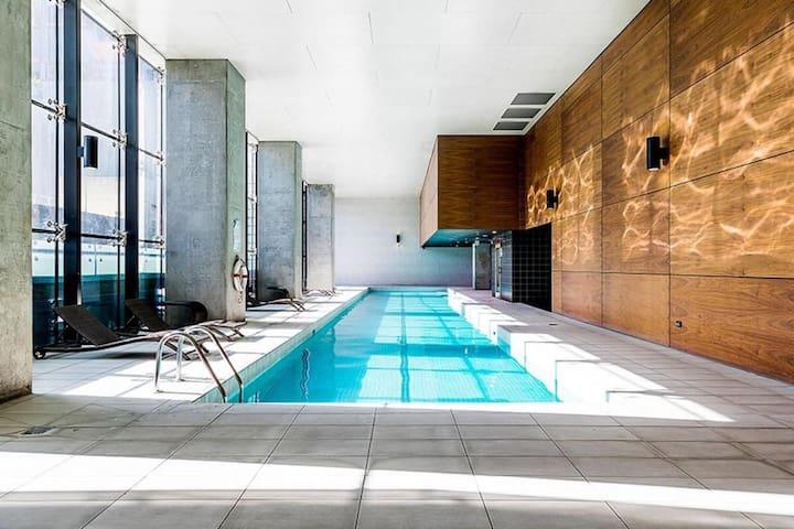 Free pool & Sauna