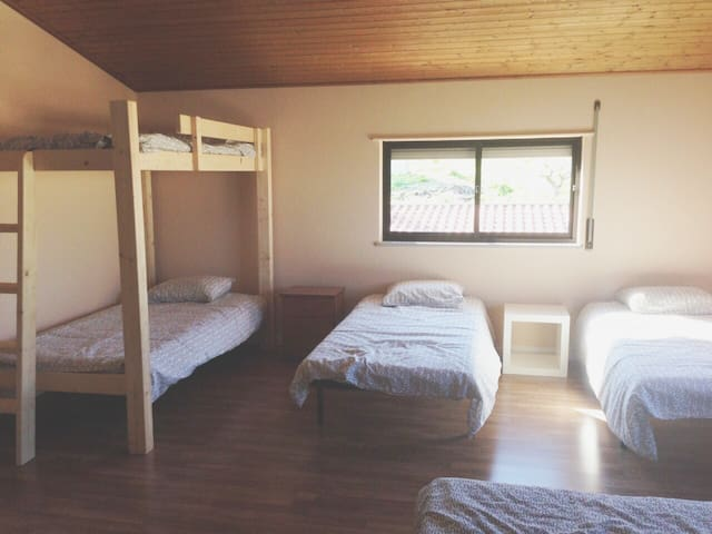 WestSoul Surfcamp (Beige, Shared Room) - A dos Cunhados - Villa