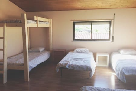 WestSoul Surfcamp (Beige, Shared Room) - A dos Cunhados
