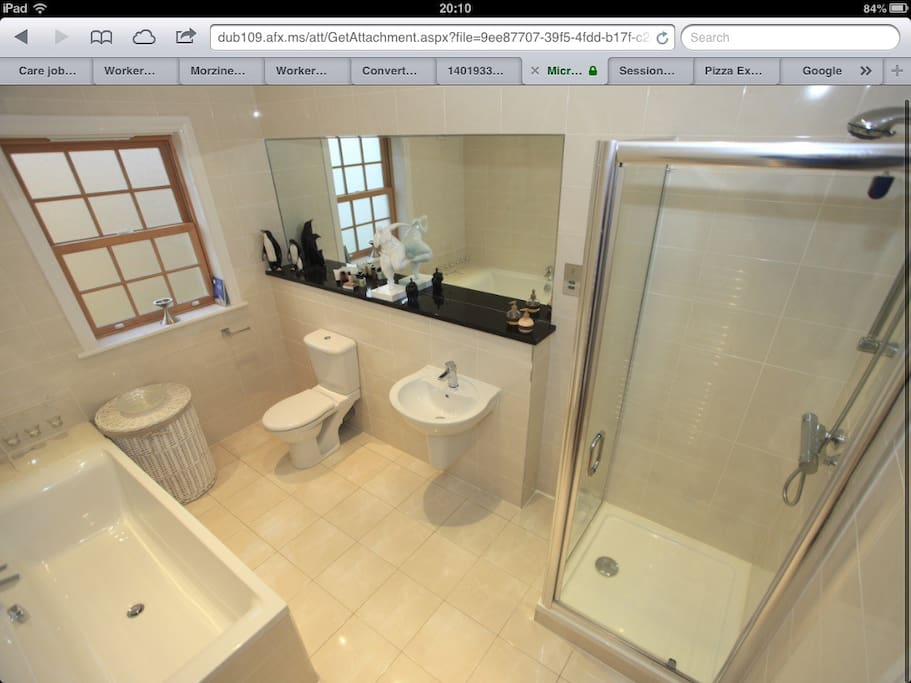Bathroom for guests