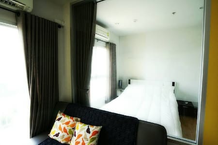 คอนโดพาร์คแลนด์ งามวงค์วาน-แคราย - Nonthaburi - Lägenhet