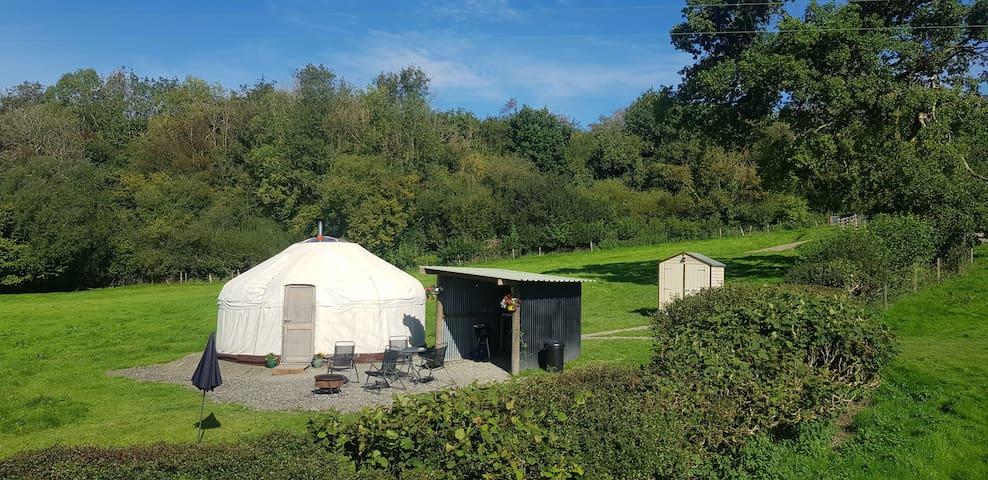 Bronfelen Yurt with a view