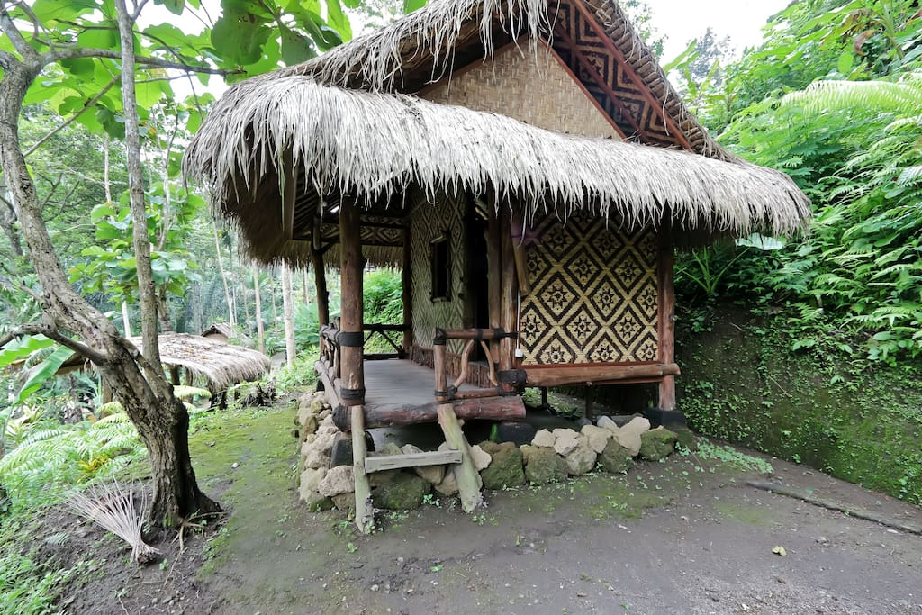 Bali Jungle Huts waterfalls