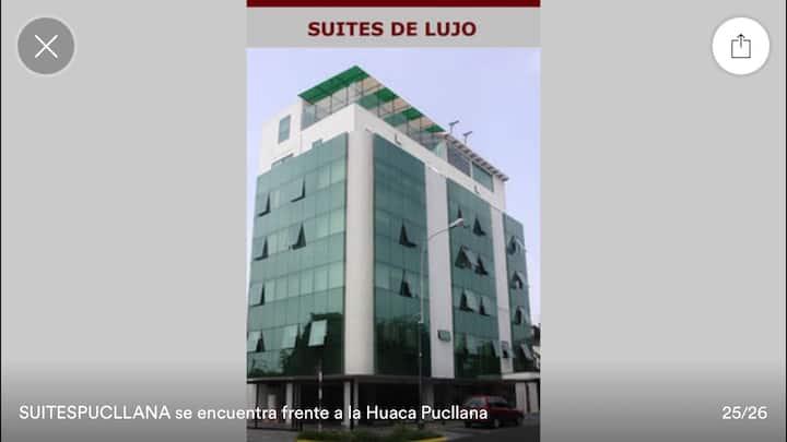 Luxury suites # 103, EQUIPADA