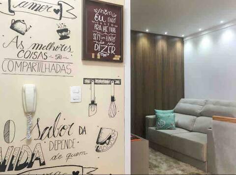 Conforto, qualidade e excelente localização!