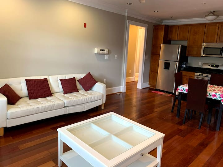 1 BR 1.5 Bath, Living, Kitchen, Laundry in DC