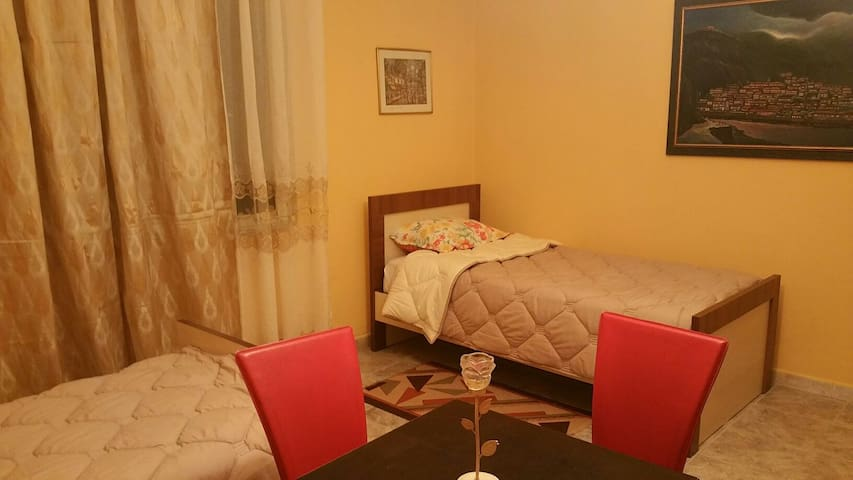 Nice room of the villa in center - tirana - Casa