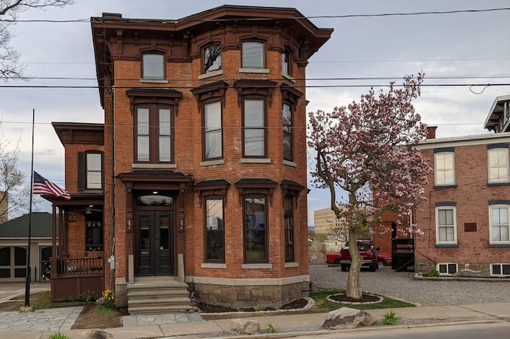 Restored historical building