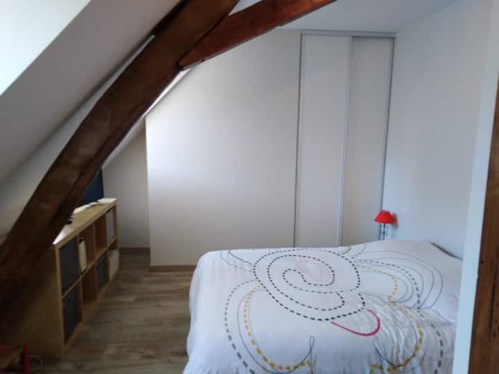 Hyper Centre, jolie chambre 2 pers. Sdb privative.