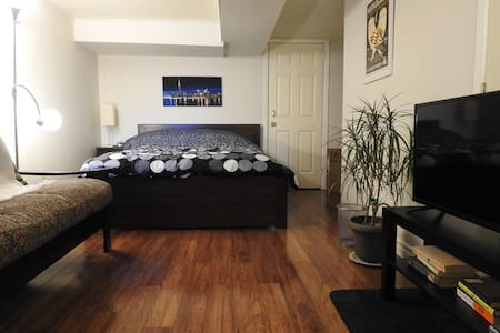Private basement apartment in downtown Toronto