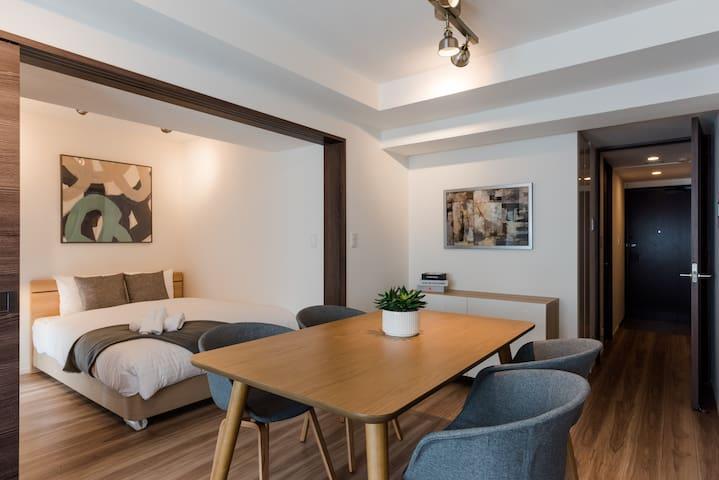 NEW! Central Tokyo 1BR Designer Biz Friendly Home