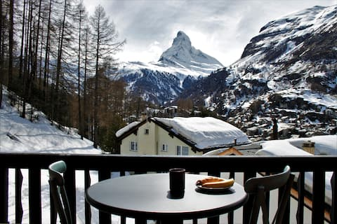 Werner's Vista: Best Matterhorn views in town!