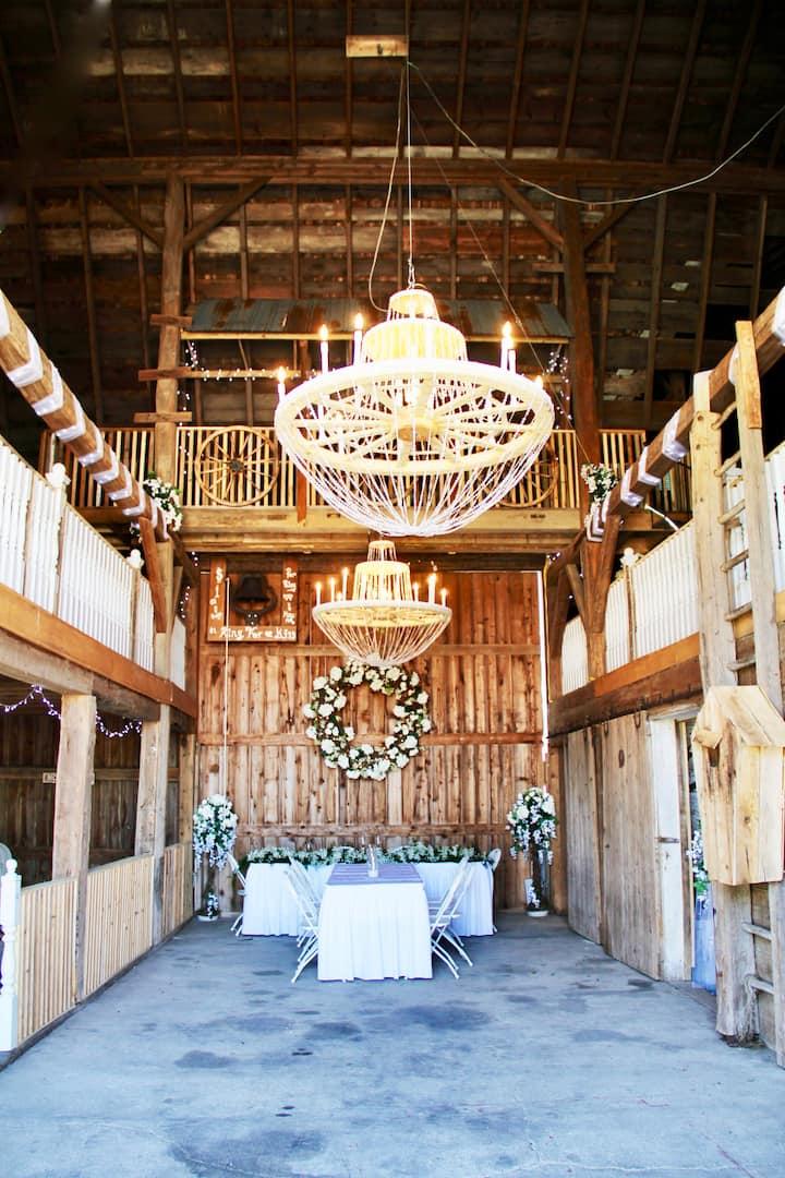 Fantastic Wedding Barn
