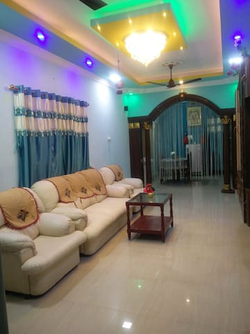 3BHK individual apartment in Krishna nagar
