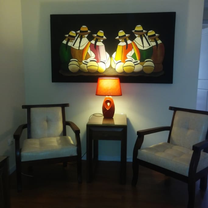 Special Offer Month Rental! Reading area.