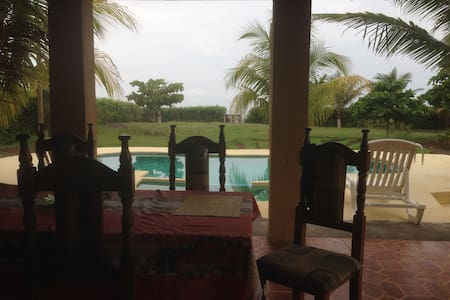 Beach Front Villa with Private Pool - Monterrico - House