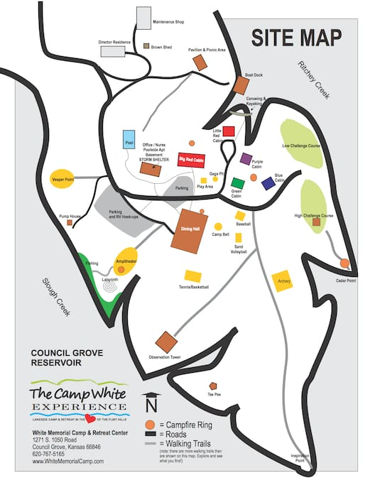 Feel free to request an easier to view map be e-mailed to you!