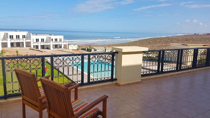 Charming apartment Ocean View & Pool @ Aglou Beach - Tiznit - Appartement