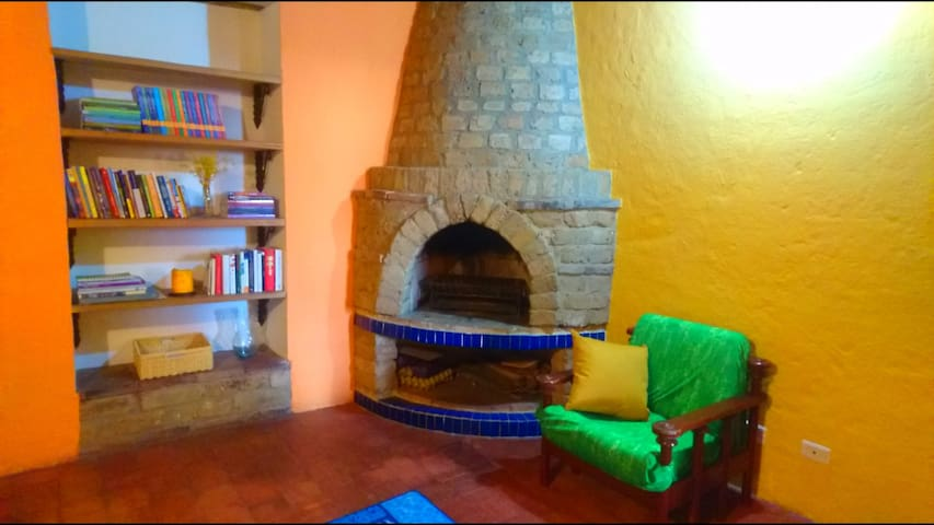 La Candelaria Duplex- Magical view and fireplace
