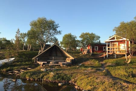 Sliiden Wilderness Cabin in Näätämö