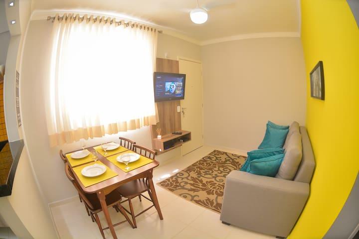 Apartamento Completo no Alto da Boa Vista - Aparecidinha - Wohnung
