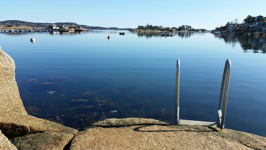 CHARMING APARTMENT IN SANDEFJORD! - Sandefjord - Byt