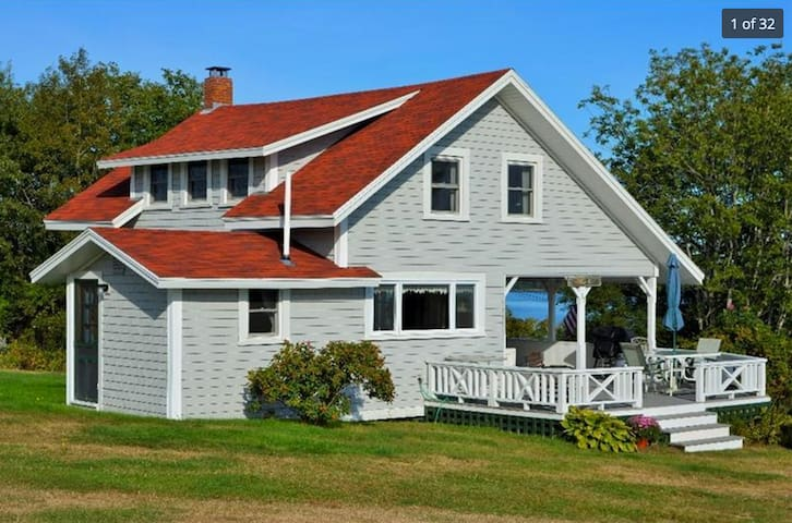 Classic Maine cottage with sea view - Harpswell - Haus