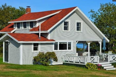 Classic Maine cottage with sea view - Harpswell - Hus