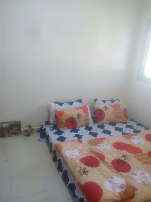 matelas double place chambre privée