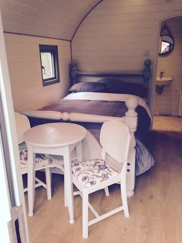 SleepySquirrel Pod, Luxury heated Ensuite& kitchen - Ilkley - Cabane