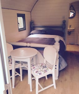SleepySquirrel Pod, Luxury heated Ensuite& kitchen - Ilkley - Blockhütte