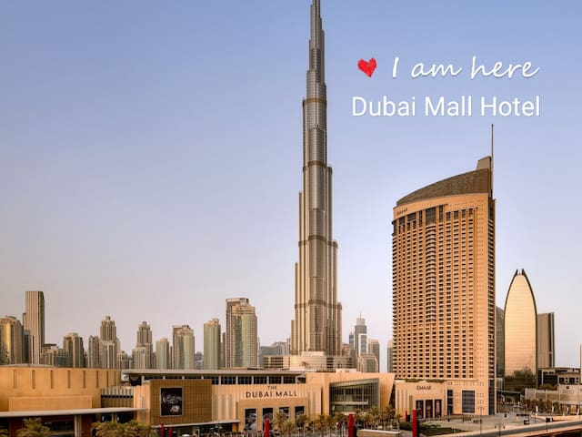 5* Studio in Dubai Mall Hotel (Burj Khalifa view)