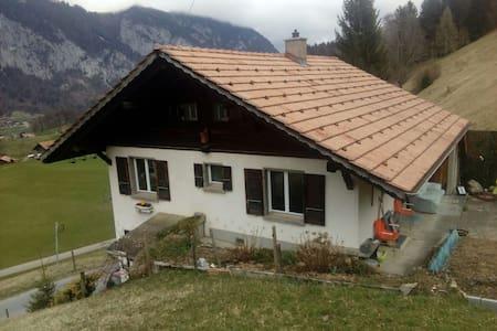 Freistehendes Einfamilienhaus - Diemtigen - 단독주택