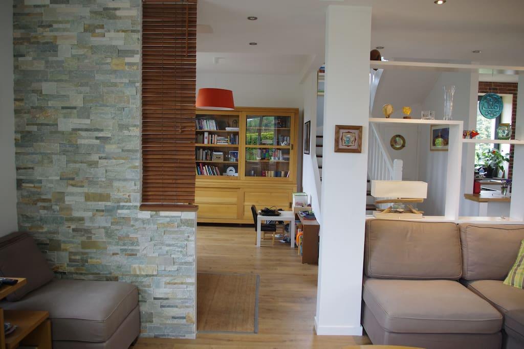 Pièce de vie/living room