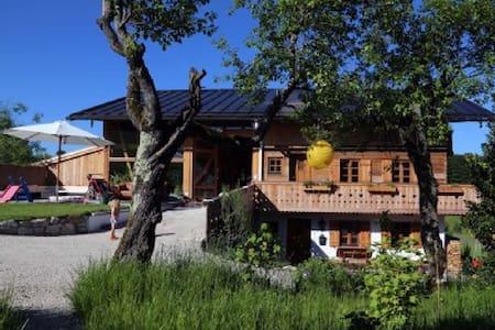 Sonnige, gemütliche Wohnung am Bio-Bergbauernhof