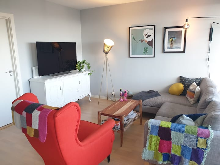 2-bedroom apartment in Oslo, next to the forrest