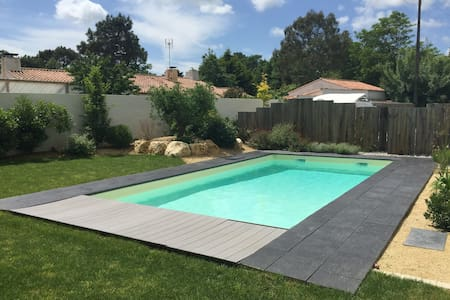 Gite avec piscine - Soullans - Çatı Katı