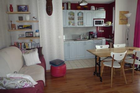 Bel appartement 2 pieces 40m2 centre ville Chelles - Chelles - アパート