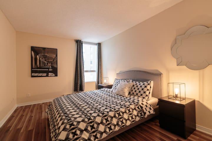 Cozy & Modern condo in DOWNTOWN MTL - Montréal - Leilighet