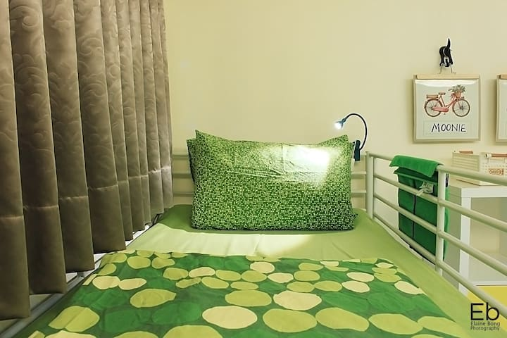 TaipeiBNT Female (Mnth Rent) - 4Beds Upper Bunk B - Tucheng District - Ubytovna