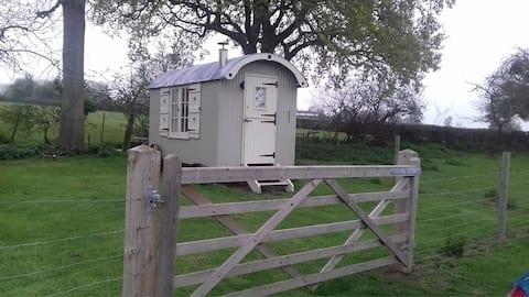 Cherrywood Shepherd's Hut at Doolittle's Campsite