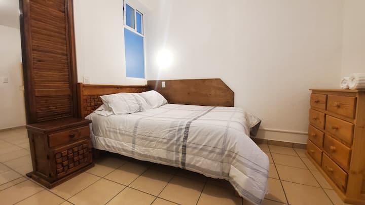 Iluminado y cómodo Loft #6 para 1 o 2 personas