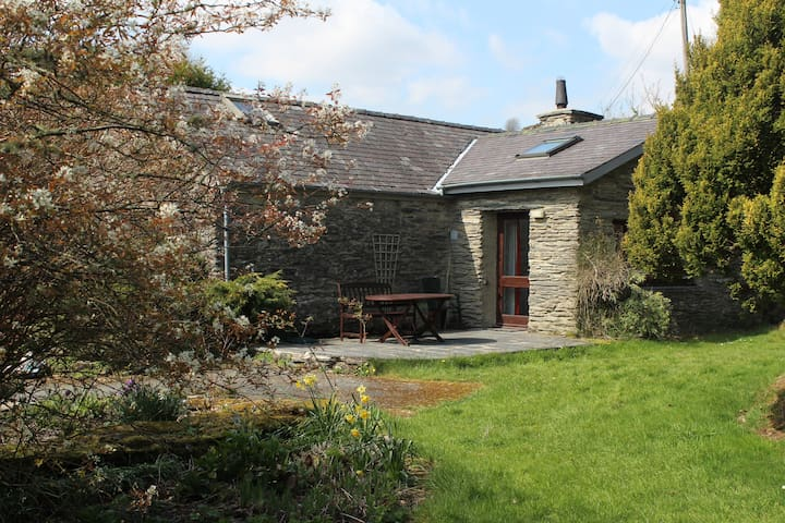 Rhiw Goch Cottage set in breath-taking gardens