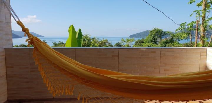 Vista Mar Bambuzinho House.Ubatuba-Enseada-S.Rita