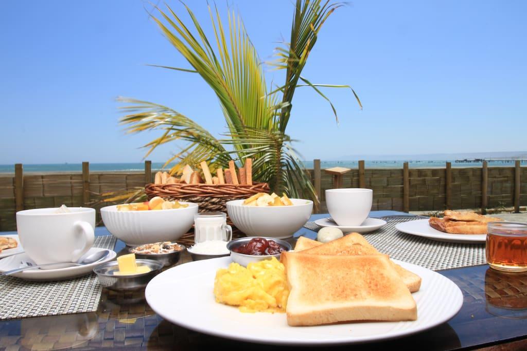 Nuestro Desayuno!
