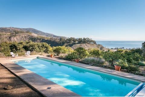 Rancho Mesa Escondida Adobe House