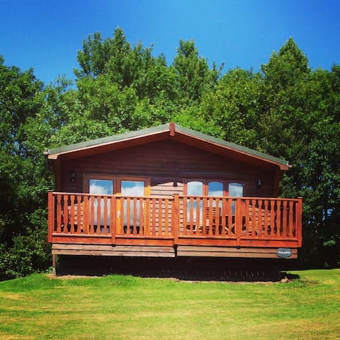 Peaceful Timber Lodge in Pembrokeshire