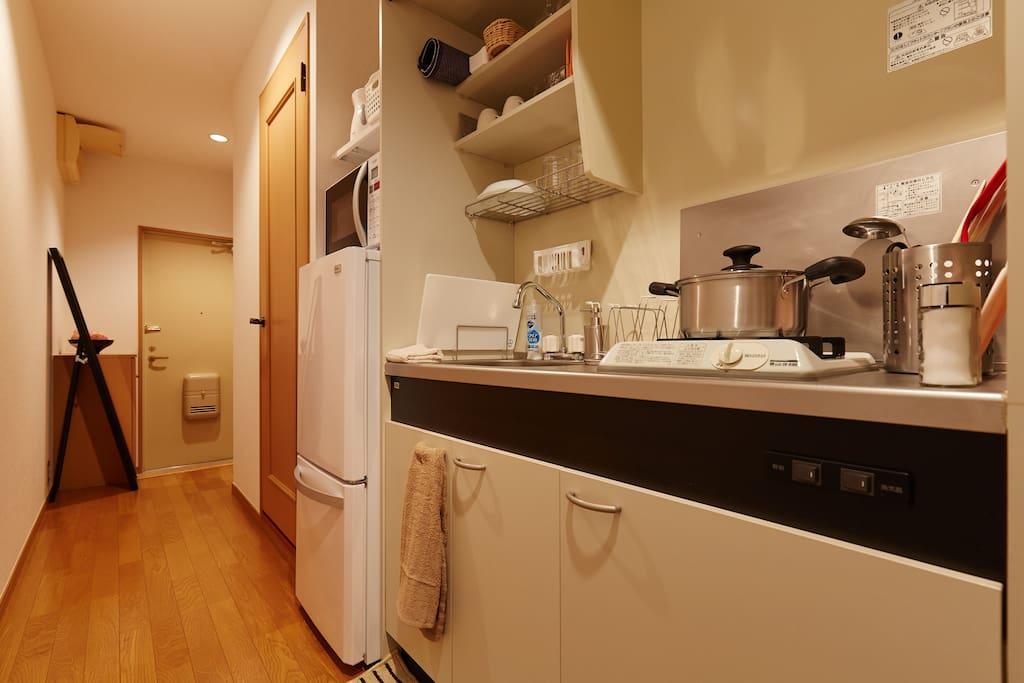kitchen(设备齐全厨房)